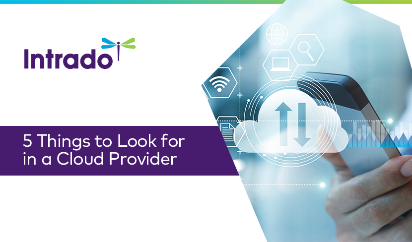 5 Things to Look for in a Cloud Provider