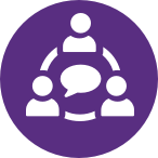 Collaboration Icon_Purple