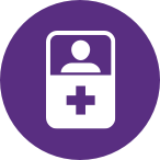 Patient Icon_Purple